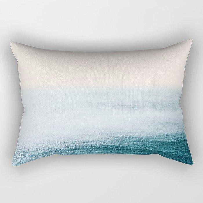 Ocean Fog Rectangular Pillow