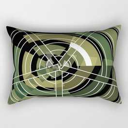 Exploded view camouflage Rectangular Pillow