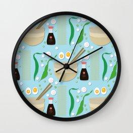 Shio Ramen Wall Clock