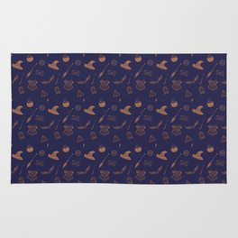 Ravenclaw Pattern Rug