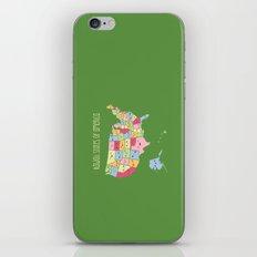 Kawaii States of America iPhone & iPod Skin