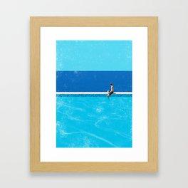 Pool 6 Framed Art Print