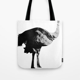 Ostrich (The Living Things Series) Tote Bag