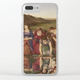 Edward Burne-Jones - The Mirror Of Venus England Clear iPhone Case
