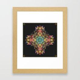 // Point of Relation Framed Art Print