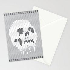 Skull Tile Stationery Cards