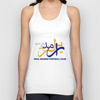 real madrid Tank Tops featuring Real Madrid by Sport_Designs