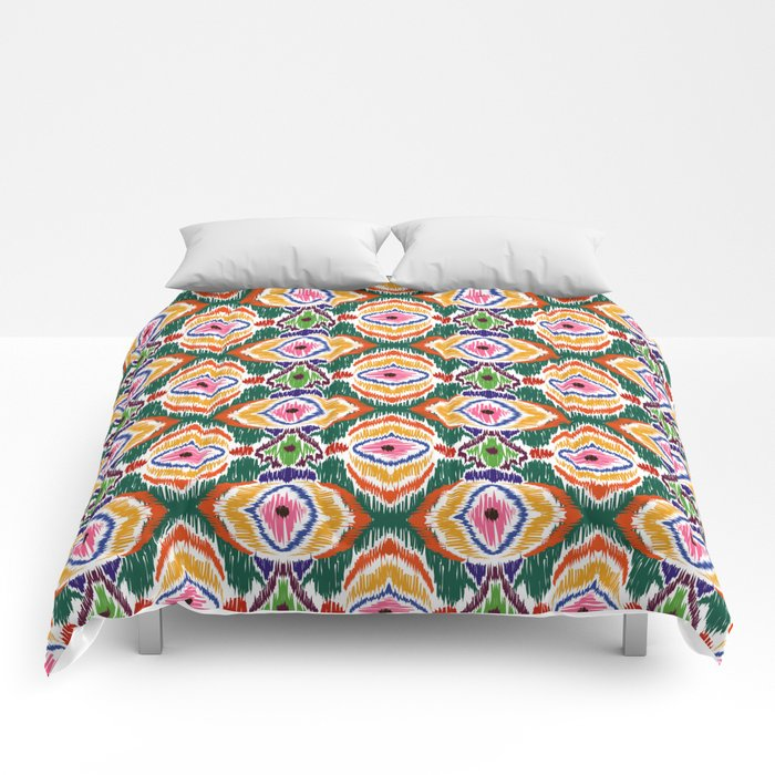Ethnic ornament Comforters