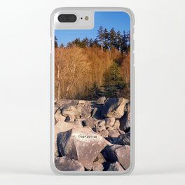 Compassion Clear iPhone Case