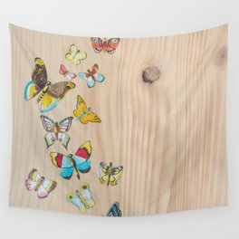 Butterflies Wall Tapestry