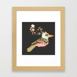 Orange Kiwi Framed Art Print
