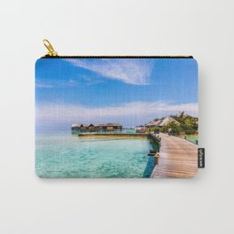 To My Bungalow in the Maldives Carry-All Pouch