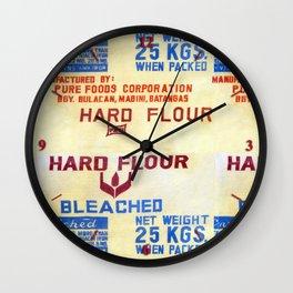 Flour Bags Wall Clock