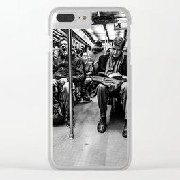 Parisian Commuters Clear iPhone Case