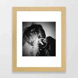 Life Through a Lense Framed Art Print