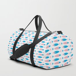 Colorful Summer Tropical Sea Fish Duffle Bag