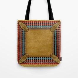 Egyptian Revival / Art Deco Pattern Tote Bag