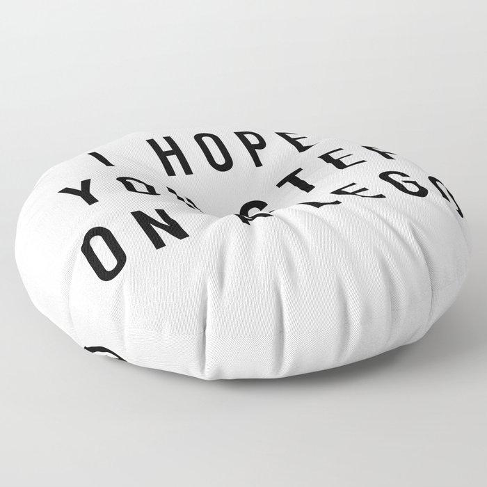 I Hope Floor Pillow