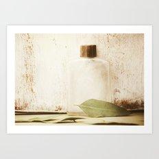 Tea Leaf Art Print