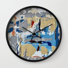 Miniature Original  - blue Wall Clock