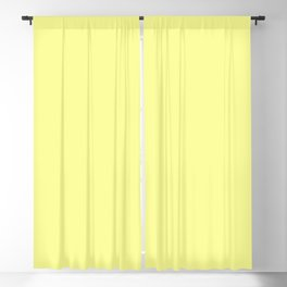 Wizzles 2021 Hottest Designer Shades Collection - Pastel Yellow Blackout Curtain