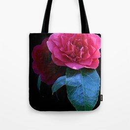 Pink Camellia  Tote Bag