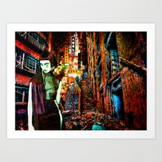 Hungry Ghost Art Print