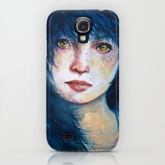 Blue hair Galaxy S4 Slim Case