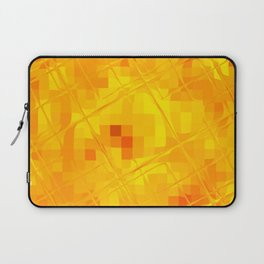 Re-Created Twisted SQ XXXV by Robert S. Lee Laptop Sleeve