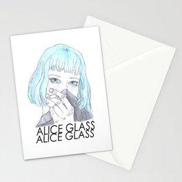 Alice Glass  Stationery Cards