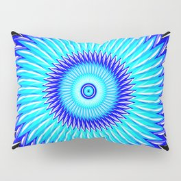Blueberry Pinwheels and Morning Glory Pillow Sham