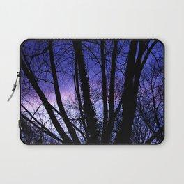 Sunset through the trees Laptop Sleeve