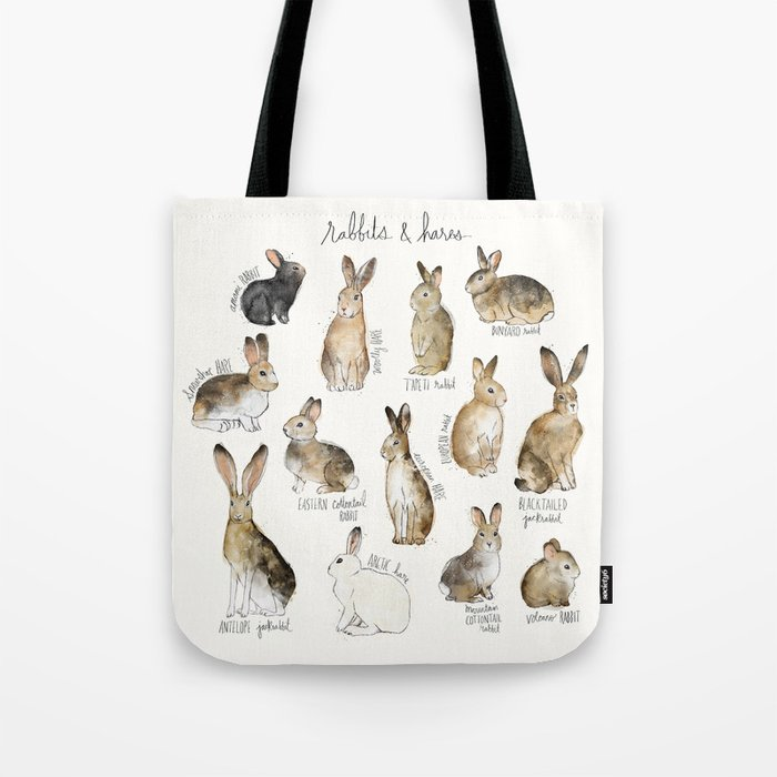 Rabbits & Hares Umhängetasche