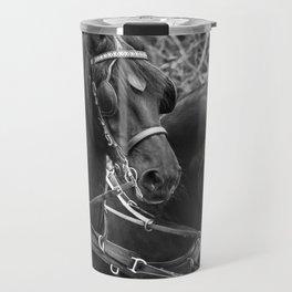 Friesian horses Travel Mug