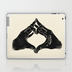 Clutch Brake Vrooom light Laptop & iPad Skin
