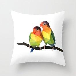 Love Bird. Throw Pillow