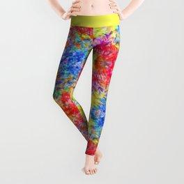 Rainbow Sunshine Tie Dye Leggings