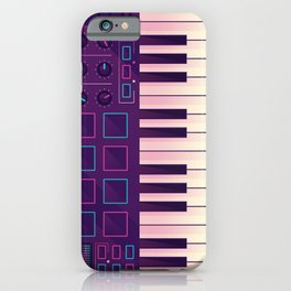 Neon MIDI Controller iPhone Case