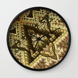Wulfenite Wall Clock