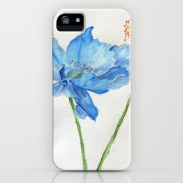 Blue North iPhone Case