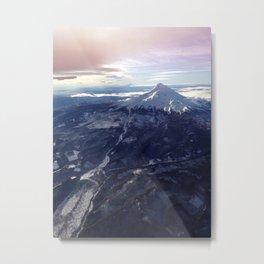 Mount Hood New Year Metal Print