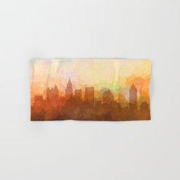 Atlanta, Georgia Skyline - In the Clouds Hand & Bath Towel
