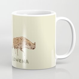 Hyena Lowena Coffee Mug