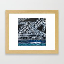 ancestral path Framed Art Print