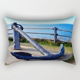 Anchor and Ship Rectangular Pillow