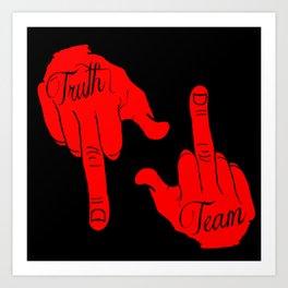 """Kingdom Stars """"TruthTeam"""" Art Print"""