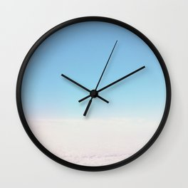 Cloud Carpet Wall Clock