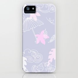 Silver Linings Pinks & Purple iPhone Case