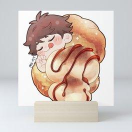 [HQ x Breakfast] Oikawa - Cream Bun Mini Art Print