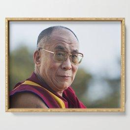 Dalai Lama Serving Tray